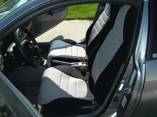 wet okele seat covers on honda insight my new wet okele cu flickr. Black Bedroom Furniture Sets. Home Design Ideas