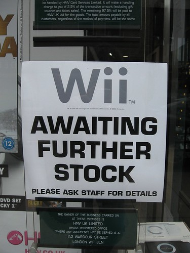 For those wondering about the availability of the Nintendo Wii in Britain... | by George DeMet