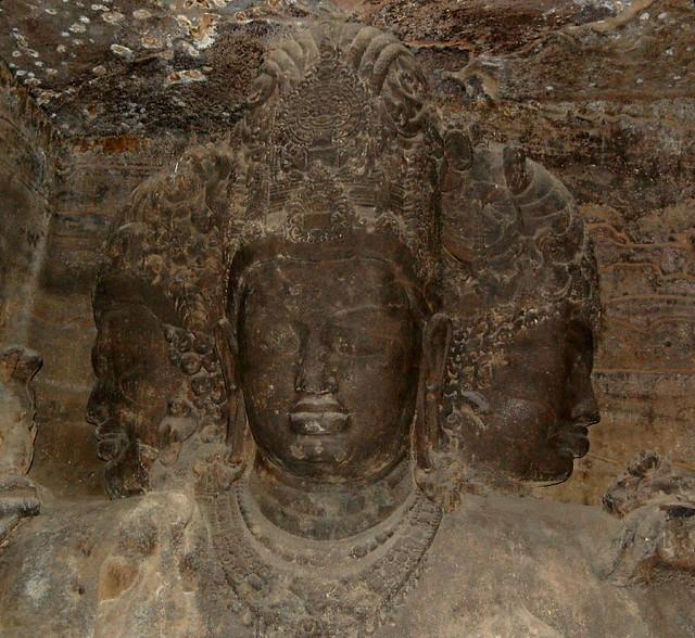 Carving on stone elephanta cave jonah flickr