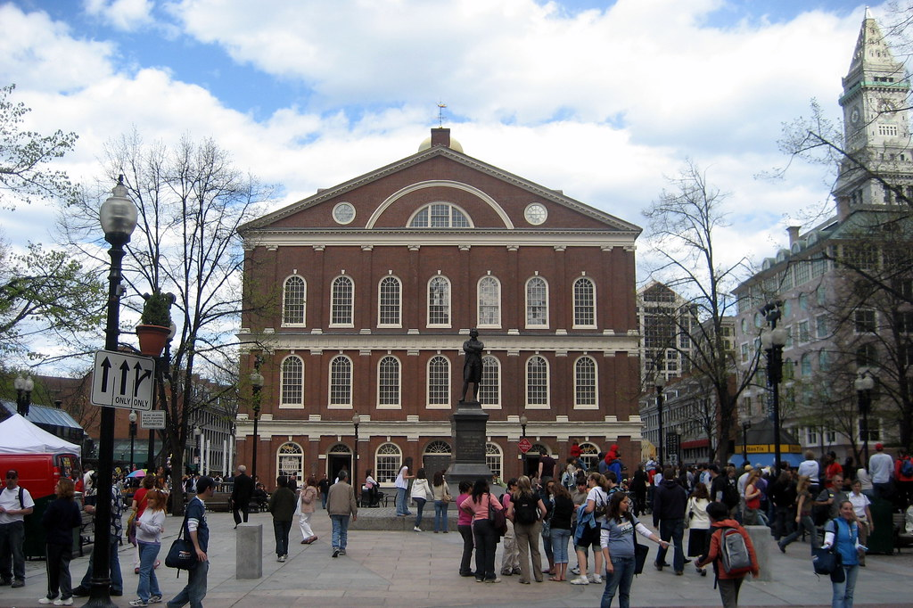 Boston Freedom Trail Faneuil Hall Marketplace Faneuil