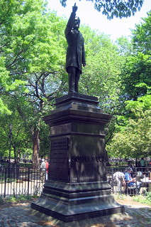 NYC - East Village: Tompkins Square Park - Samuel Sullivan Cox statue | by wallyg