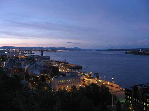 Saint Lawrence River in Quebec City #1   Early evening at th…   Flickr