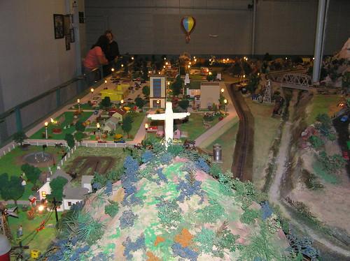 tiny town  model train layout  374 whittington avenue  hot