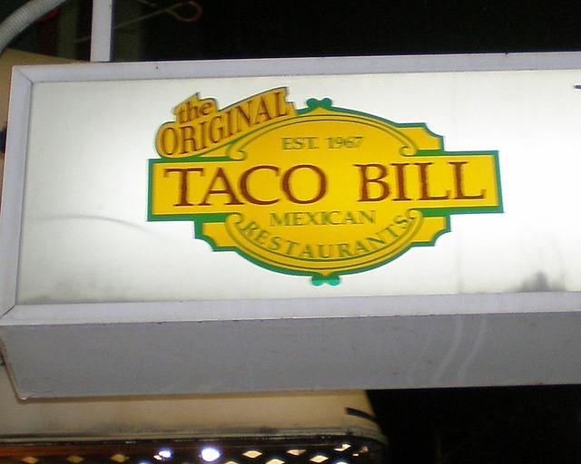 Taco Bill Mexican Restaurant Melton Vic
