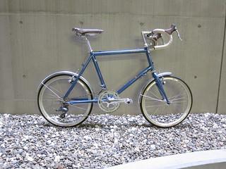 Bianchi minivelo 8 drop blue 01