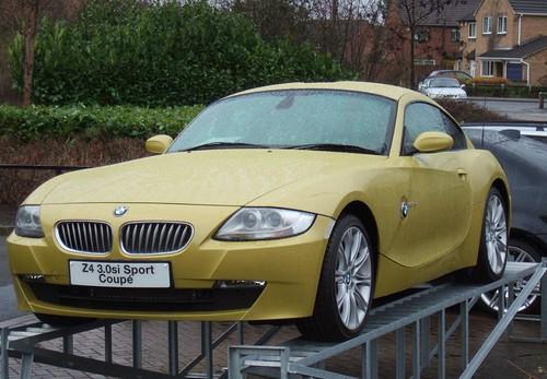 Gold Bmw Z4 Coupe Carl Spencer Flickr