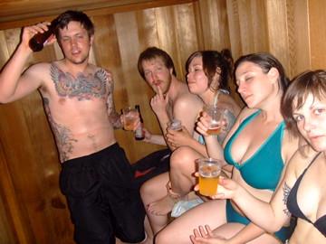 sauna party | it was getting hott. | Elyssa | Flickr