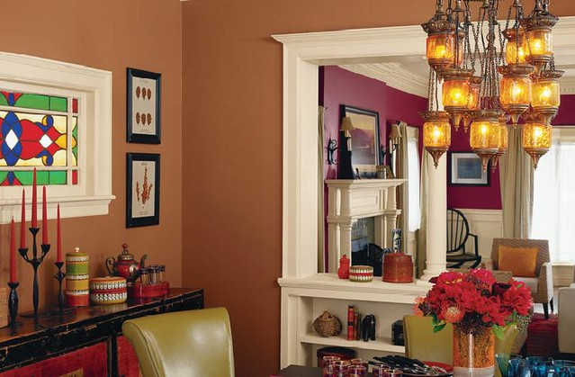 Sherwin Williams Borscht Living Room