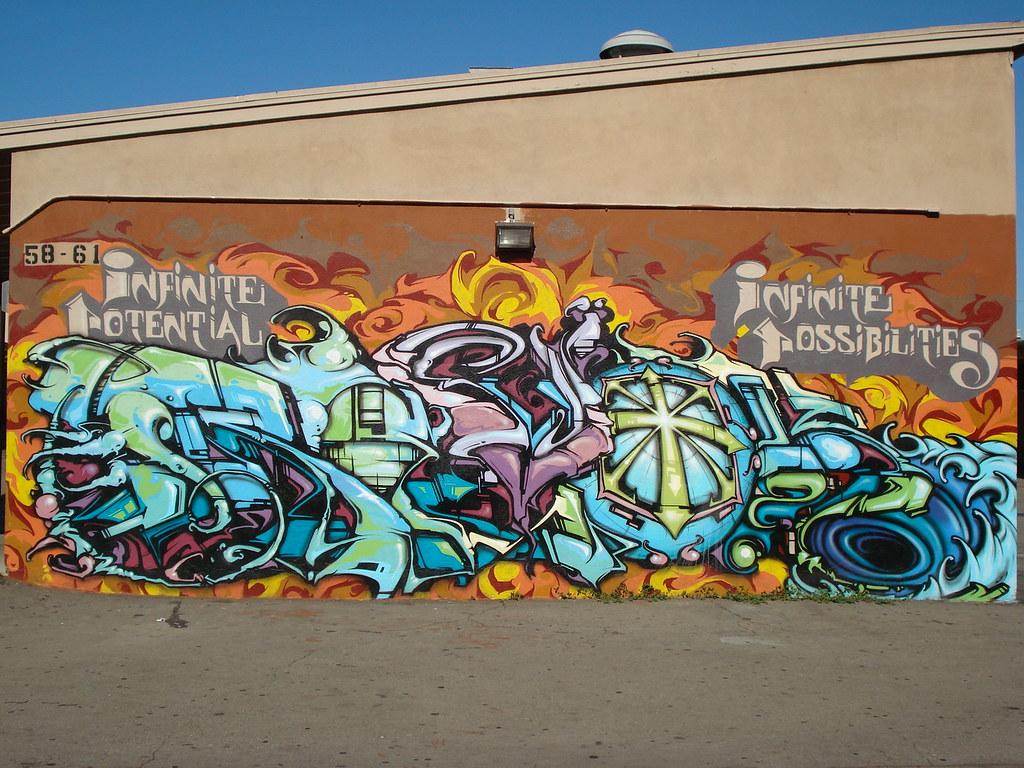 Revok MSK AWR SeventhLetter 7th LosAngeles Graffiti Art ...