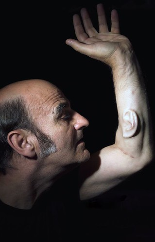 Stelarc's Ear PORTRAIT taken by nina sellars | by k0re