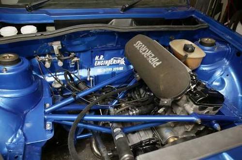 Hayabusa Powered Vw Rabbit Golf Mk1 By H R Engineering