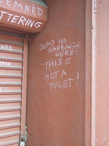 Not a toilet | by passiveaggressivenotes
