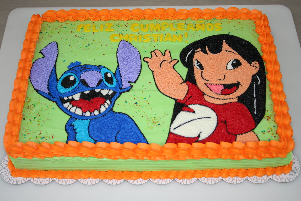 Lilo And Stitch Cake Please Let Me Know What You Think Of Jens