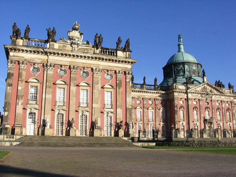 Neues Palais, Park Sanssouci, Potsdam