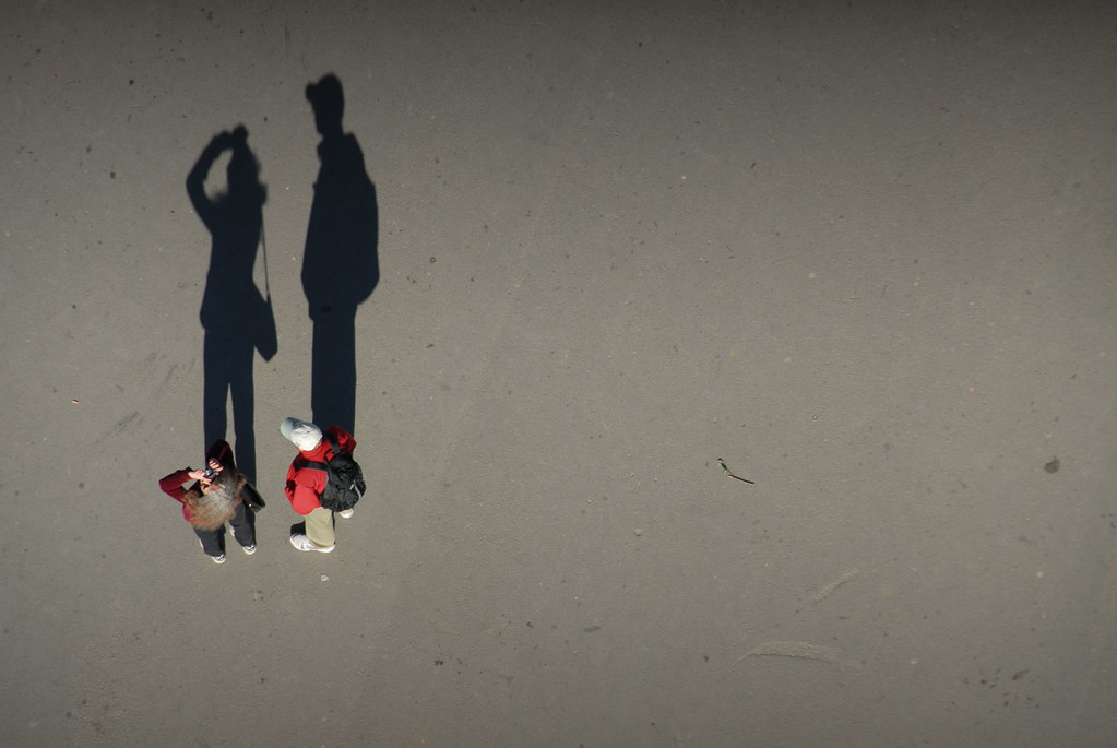 Shadow People | Looking down from The Eiffel Tower @1st ...