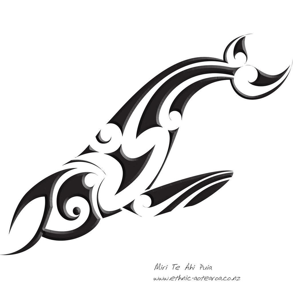Maori Art Tohorahumpback Whale All Of My Tshirts And Ar Flickr