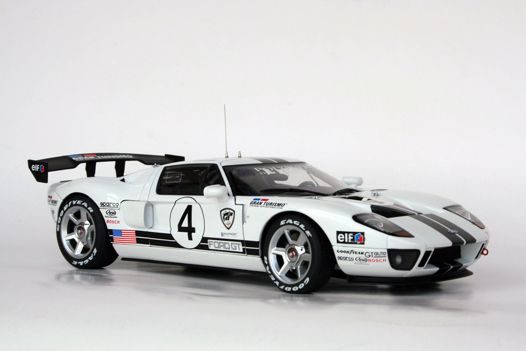Gt Ford Gt Lm Race Car