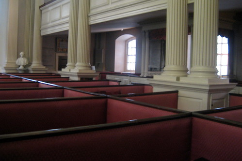 Boston - Freedom Trail: Kings Chapel - Box Pews | by wallyg