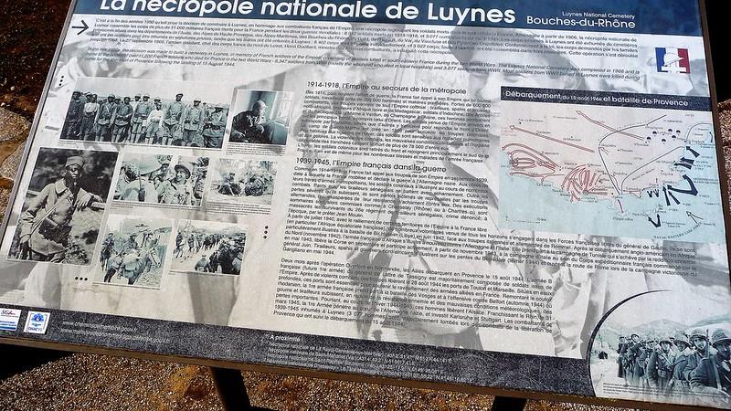 La nécropole nationale de Luynes