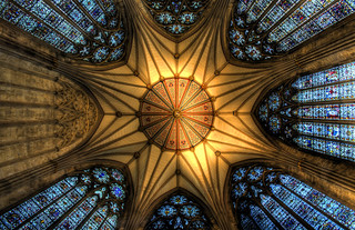 chapter house ceiling in the york minster | by Lee Collins Photography