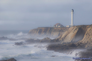 Misty Afternoon at the Lighthouse - Point Arena Lighthouse | by Darvin Atkeson