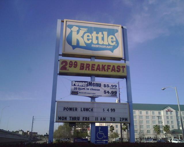 The Kettle Restaurant Enumclaw Menu