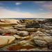 Jamestown rocky coast.