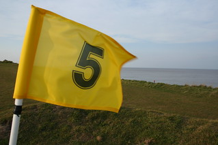 Number 5 Flag, Hopton cliffs Norfolk | by .Martin.