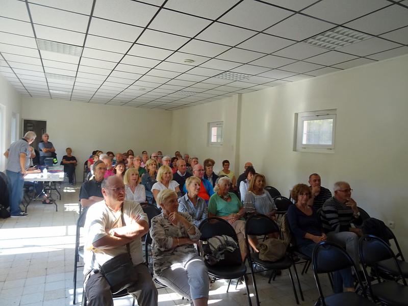 Les membres de Rando Loisirs présents lors de l'Assemblée Générale
