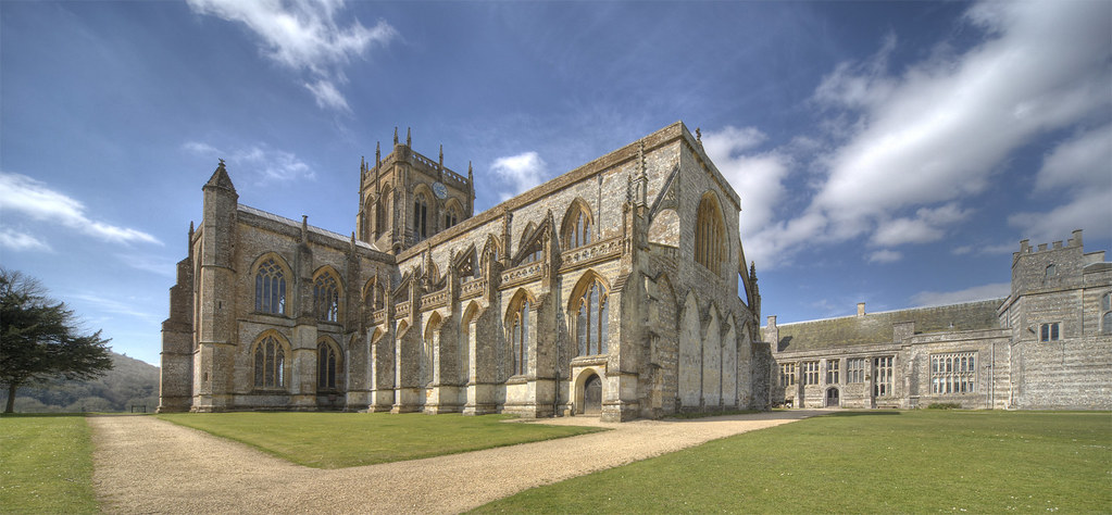Milton Abbey Dorset Abbey Church Of St Mary St Sansom