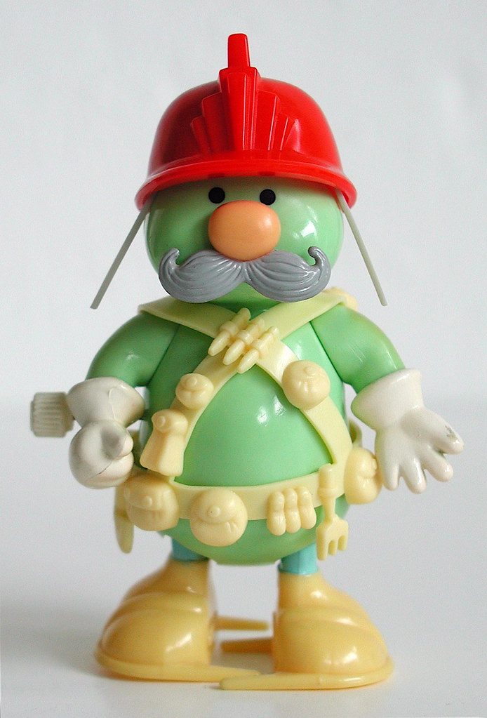 tomy fraggle rock wind-up toy: doozer | This is an item ...