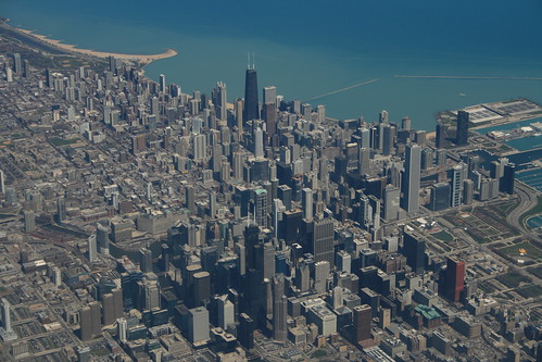 Above Chicago | by urbanfeel