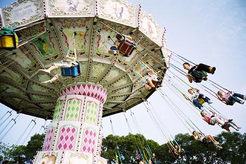 Flying Swing 太空摩天輪 At Ocean Park Hong Kong Jangung Lam