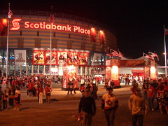 Go Sens Go - Red Zone, I | by jessica @ flickr