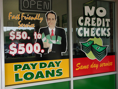 Payday Loan Place Window Graphics | by taberandrew