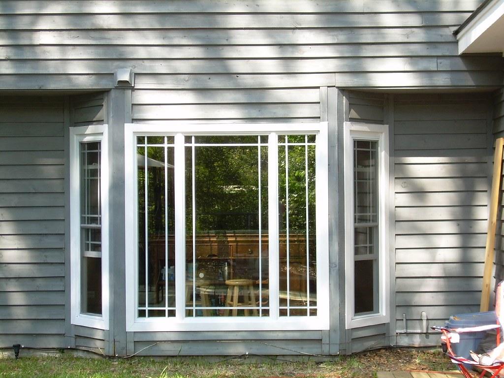 Bay Window With Prairie Grids In Savannah Www