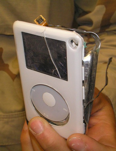 Ipod saves Soldier's Life 2 | by tikigod
