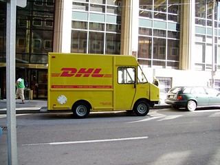 DHL Truck | by zyphbear