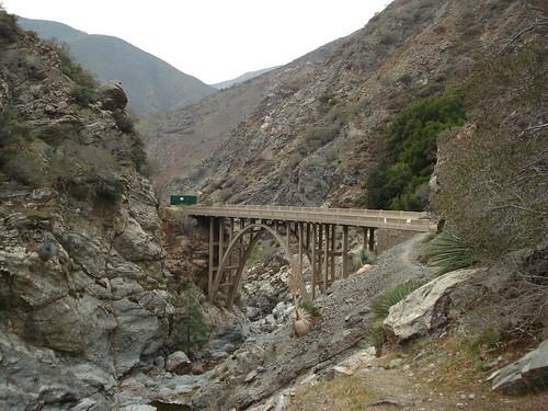 Bridge To Nowhere East Fork San Gabriel Mountains