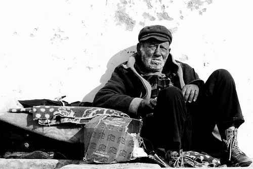 Retired homeless fisherman | by pedrosimoes7