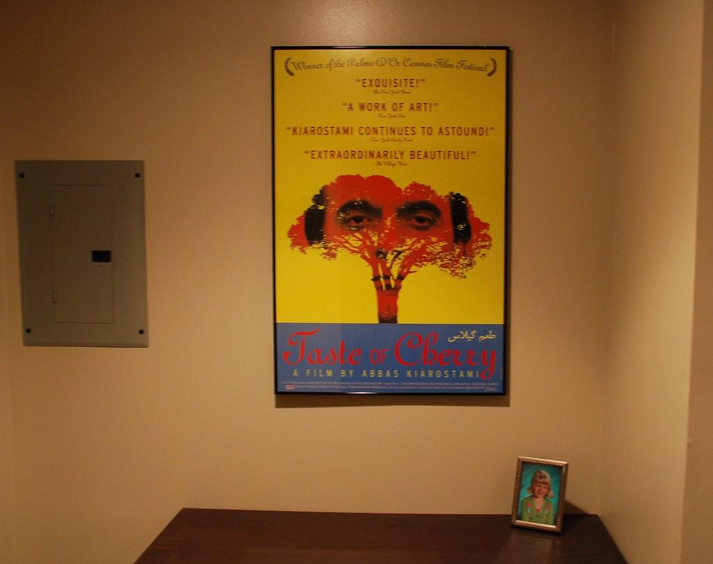 Movie Poster House Tour Taste Of Cherry