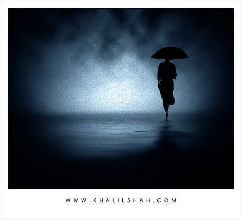 You Left In The Lightning And Rain | by khalilshah