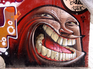 DSC09471 - Graffiti with Teeth | by loupiote (Old Skool) pro
