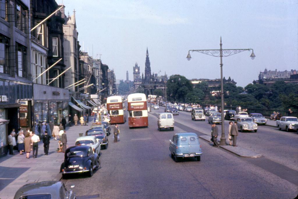 Image result for 1960s edinburgh