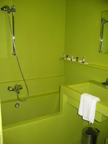 ... Lime Green Designer Bathroom   Lloyd Hotel Amsterdam | By Andrew  Findlater