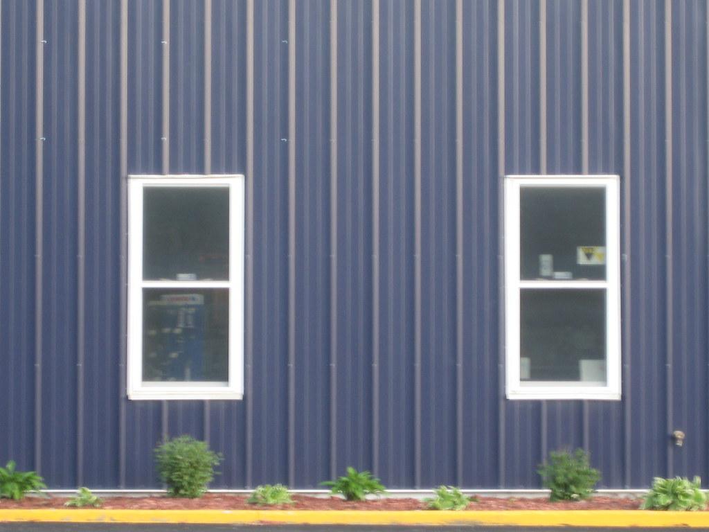 Cool Blue Pole Barn Steel Rolu Rosenlof Lucas Ro Lu
