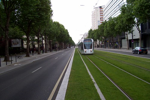 New Tramway Paris