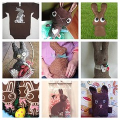 chocolate bunnies of the world unite! | by jessica wilson {jek in the box}