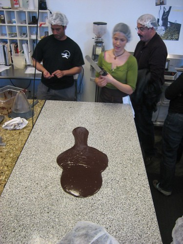 Tempering the chocolate | by goldberg