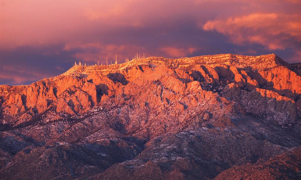 Sandia Mountains Snow Sandia Mountains Flickr